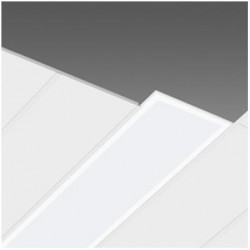 Panel LED 300X1200mm 48W Marco Blanco