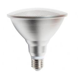 Lámpara LED PAR38 E27 18W 230V, angulo 125º