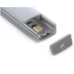 Tapa Final salida cable para perfil superficie A1707