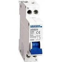 Interruptor Magnetotermico 3SB28 1P+N 1 módulo 10 Amperios Curva C