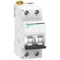 Interruptor Magnetotermico iK60N 1P+N 10 Amperios Curva C