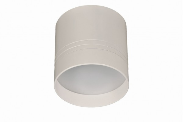 Foco led superficie redondo blanco 12w for Focos led superficie